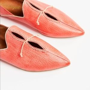 NEW! Free People St. Lucia Flats in Salmon